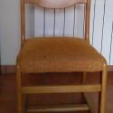 Vendo 4 sillas de madera de segunda mano