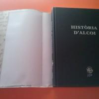 """""""Història d'Alcoi"""", libro nuevo de 600 páginas, de varios autores, en venta."""