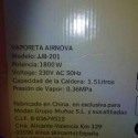 Vendo Vaporeta jjb-201 a estrenar